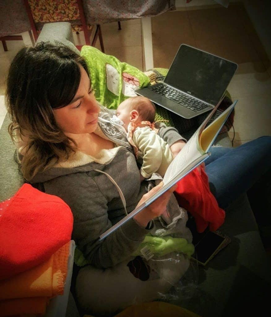 Maternidad pura y dura