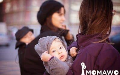Momawo, abrigo de porteo