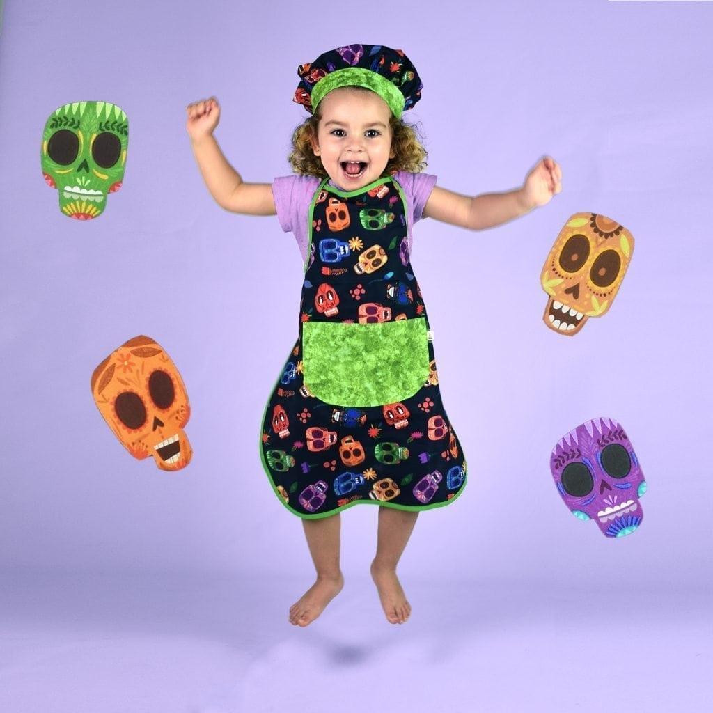 Delantales infantiles - Calaveras