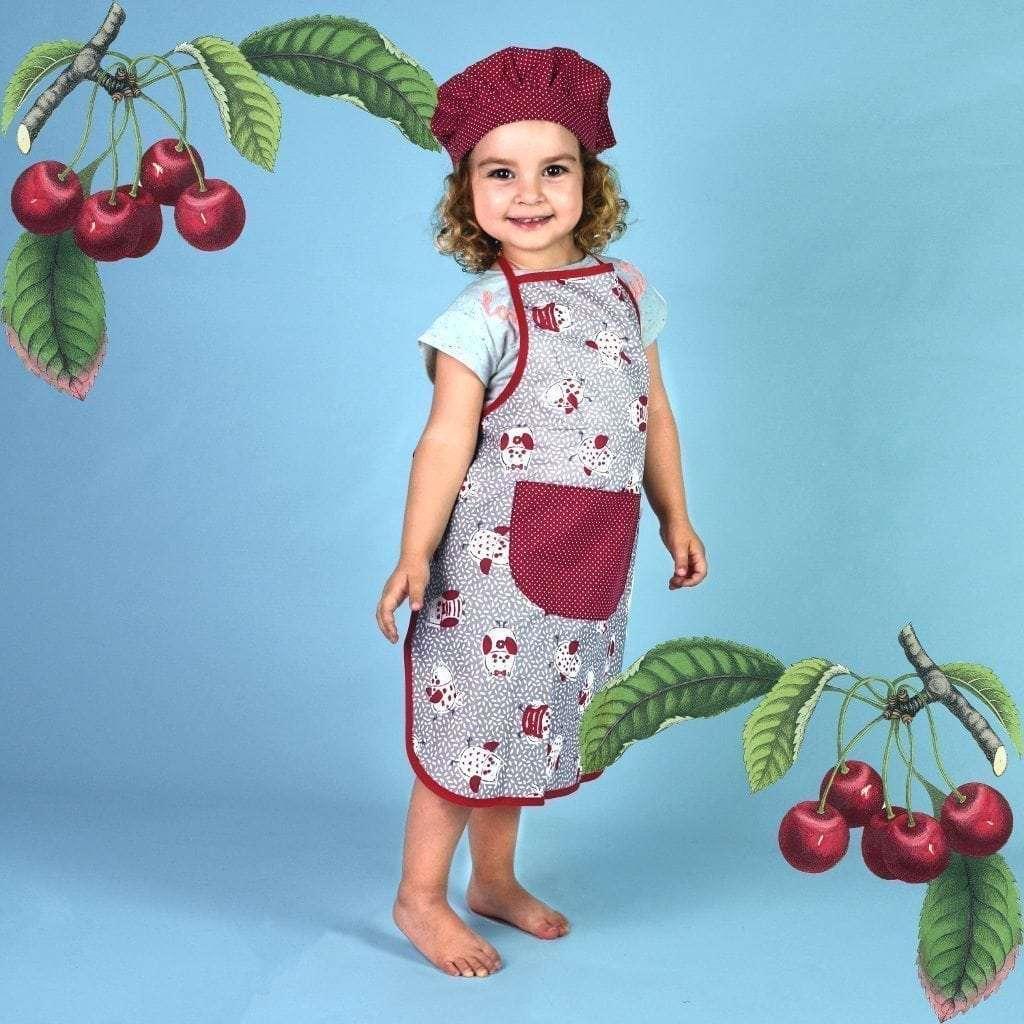 Delantales infantiles - Búhos