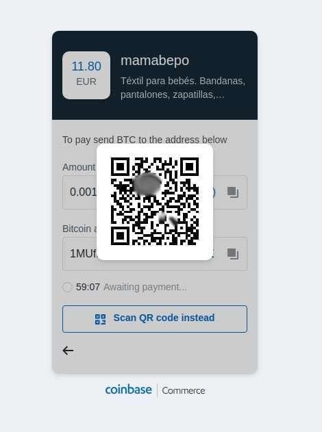 Métodos de pago en Mamabepo 6