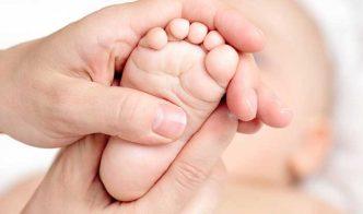 Reflexoterapia en los bebes