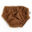 Cubrepañales entretiempo - Knit caramel