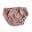 Cubrepañales entretiempo - Knit dusty rose